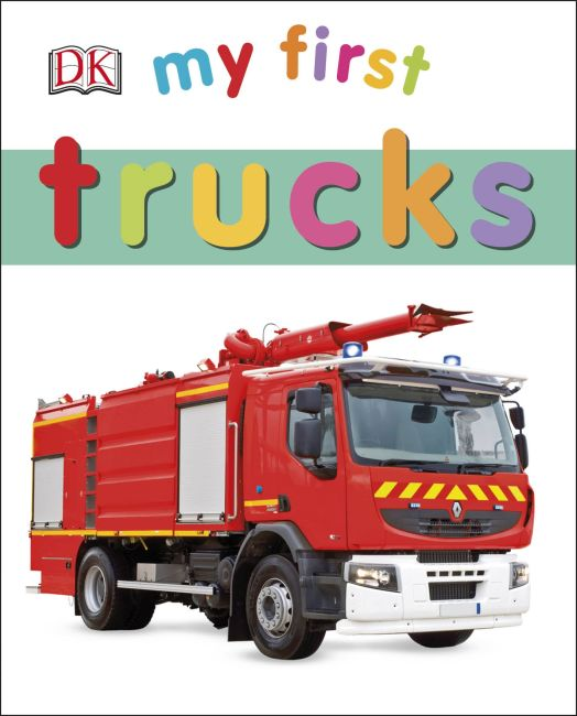 Board book cover of My First Trucks