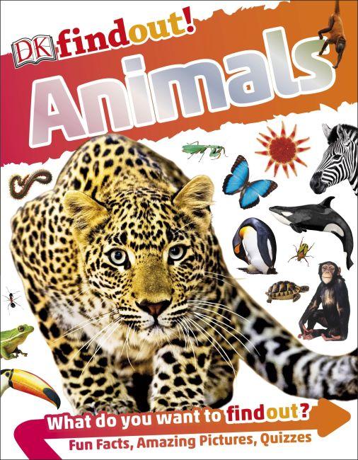 Flexibound cover of DKfindout! Animals