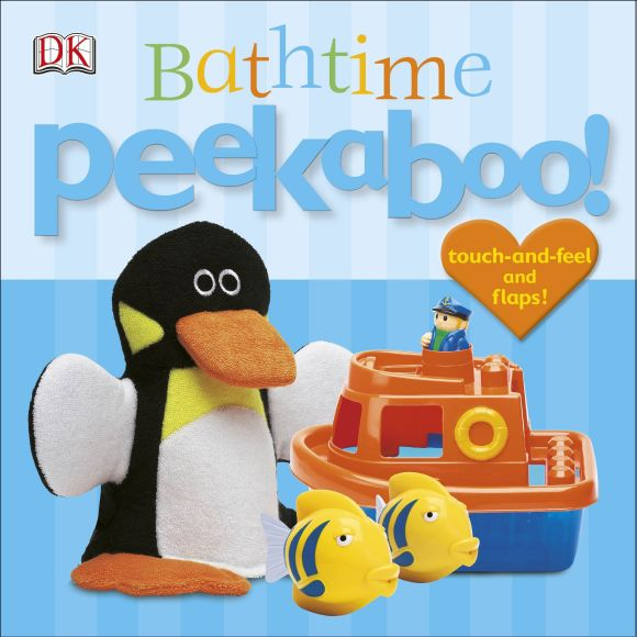 Board book cover of Bathtime Peekaboo!