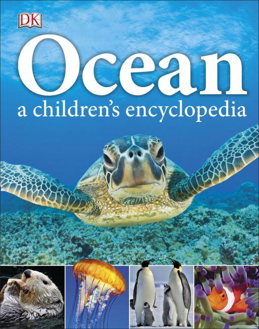 Hardback cover of Ocean A Children's Encyclopedia