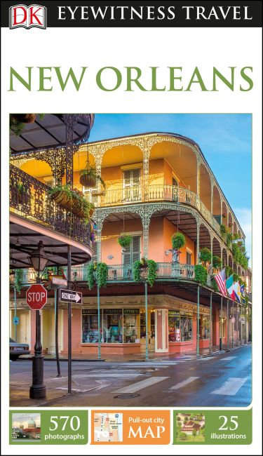 Flexibound cover of DK Eyewitness Travel Guide New Orleans