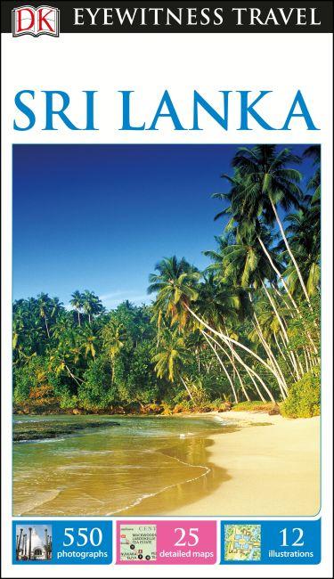 Flexibound cover of DK Eyewitness Travel Guide Sri Lanka