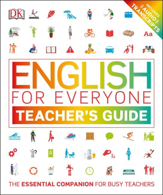 Paperback cover of English for Everyone Teacher's Guide