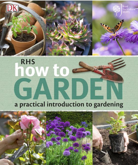 Paperback cover of RHS How to Garden