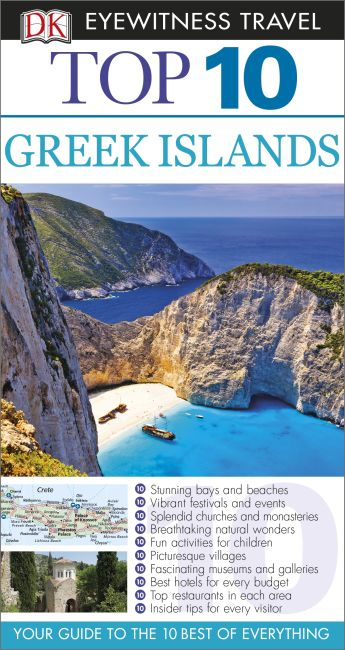 eBook cover of Top 10 Greek Islands