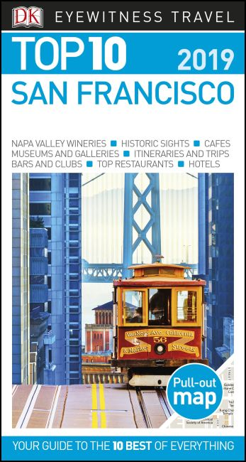 Paperback cover of Top 10 San Francisco