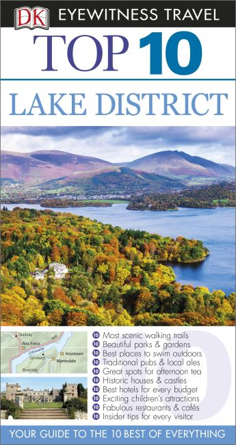 eBook cover of Top 10 Lake District