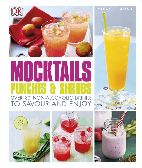 Hardback cover of Mocktails, Punches & Shrubs