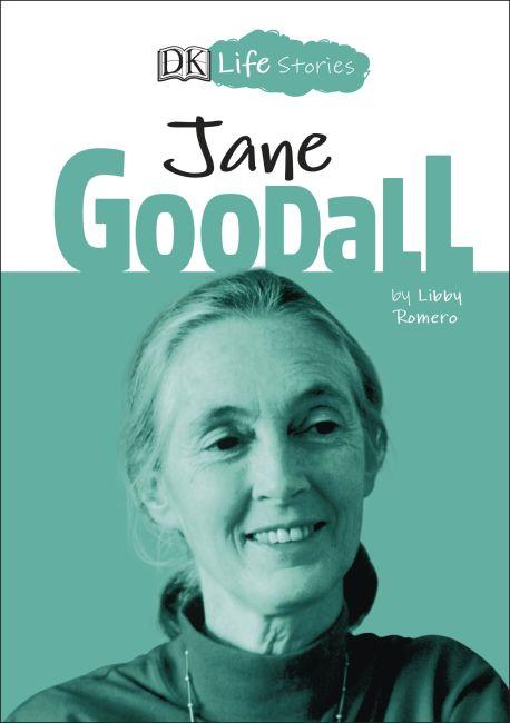 Hardback cover of DK Life Stories Jane Goodall