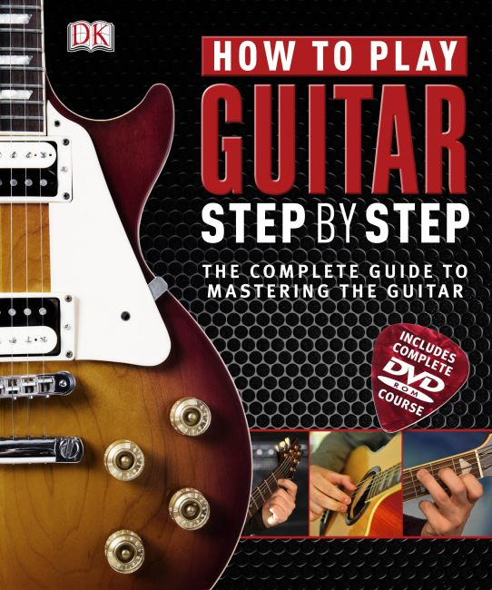 Hardback cover of How to Play Guitar Step by Step