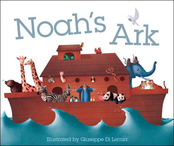 Board book cover of Noah's Ark