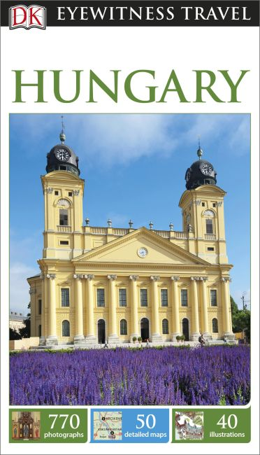 Paperback cover of DK Eyewitness Travel Guide Hungary