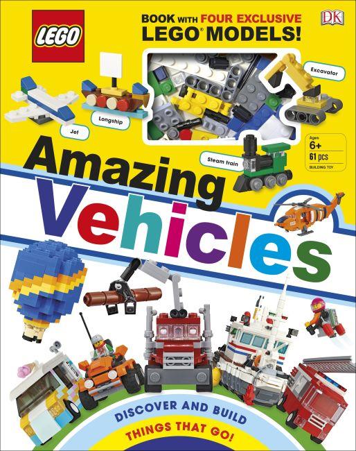 Hardback cover of LEGO Amazing Vehicles