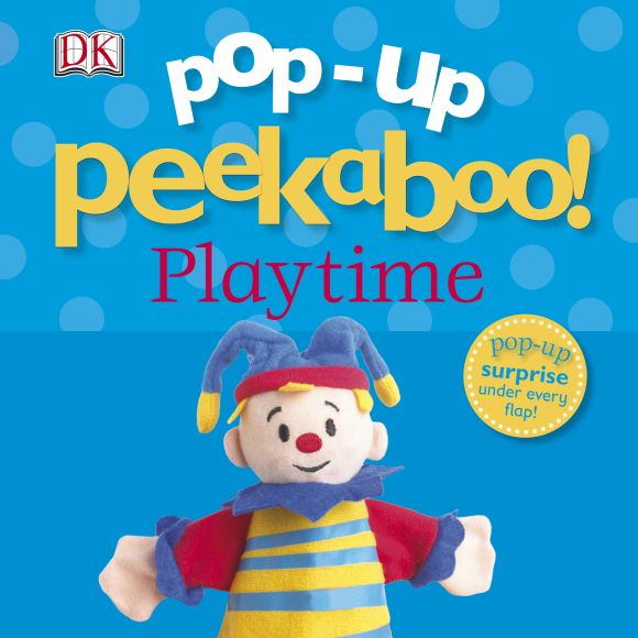 Board book cover of Pop-Up Peekaboo! Playtime