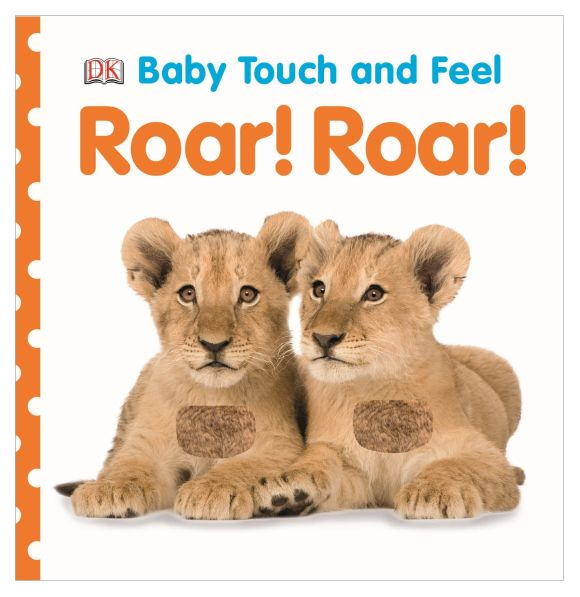 Board book cover of Baby Touch and Feel Roar! Roar!