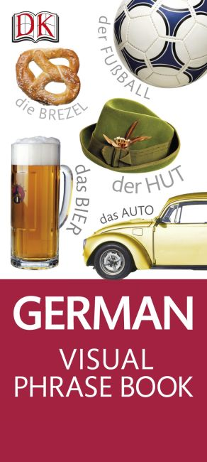 eBook cover of German Visual Phrase Book