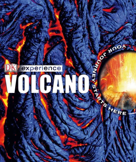 eBook cover of DK Experience: Volcano