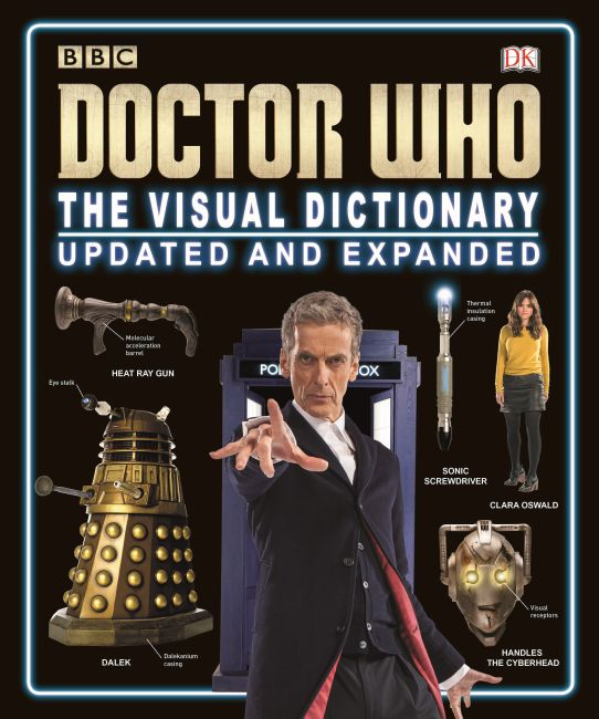 Hardback cover of Doctor Who: The Visual Dictionary