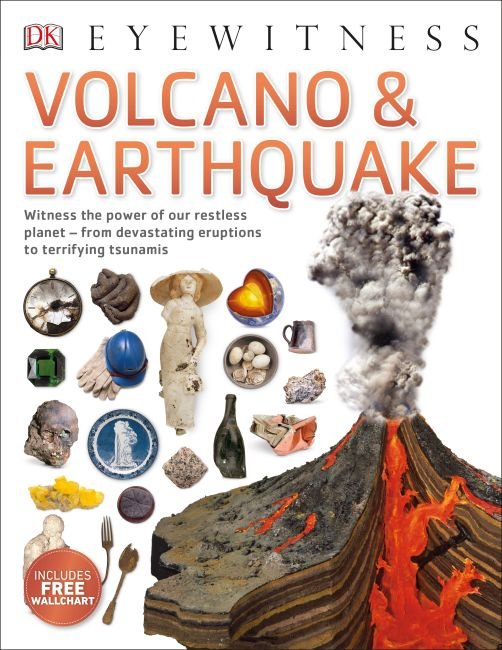 Paperback cover of Volcano & Earthquake
