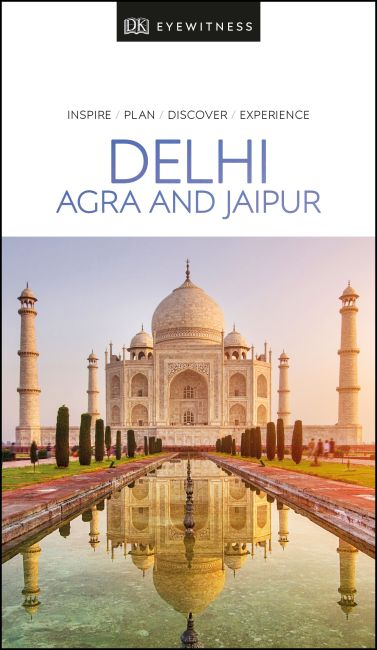 Paperback cover of DK Eyewitness Delhi, Agra and Jaipur
