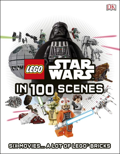 Hardback cover of LEGO® Star Wars in 100 Scenes