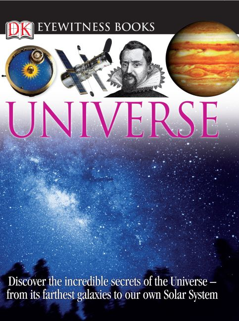 eBook cover of DK Eyewitness Books: Universe