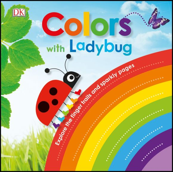 Board book cover of Colors with Ladybug