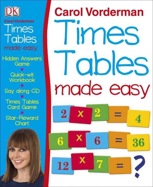 Mixed Media cover of Times Tables Made Easy