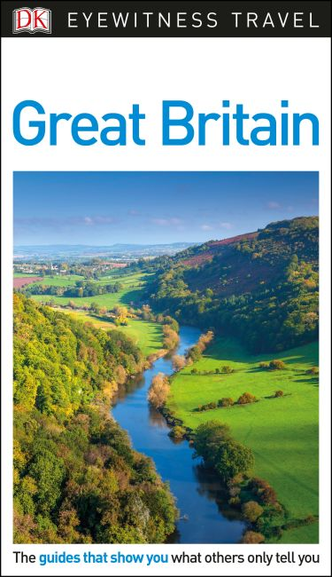 Flexibound cover of DK Eyewitness Travel Guide Great Britain