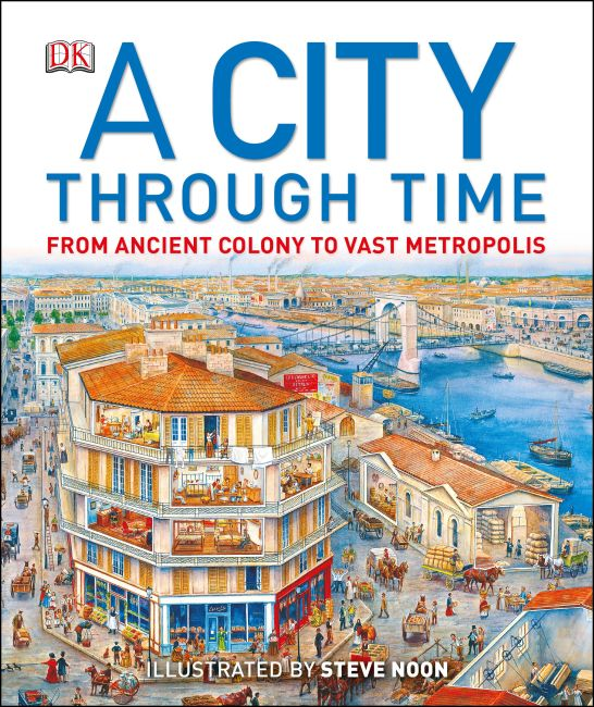 Hardback cover of A City Through Time