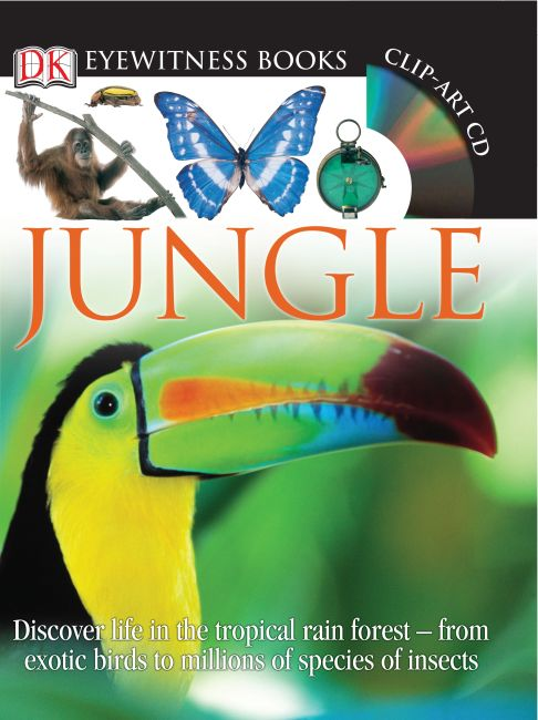 Hardback cover of DK Eyewitness Books: Jungle