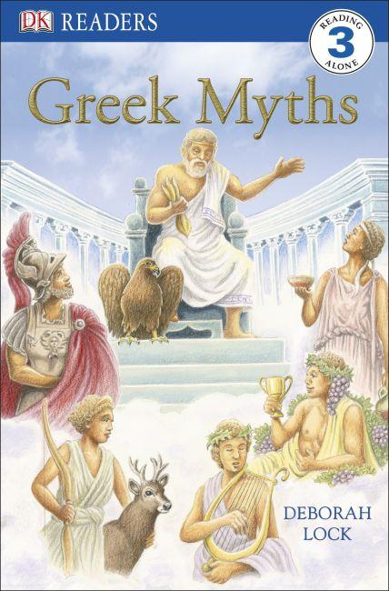 Paperback cover of DK Readers L3: Greek Myths
