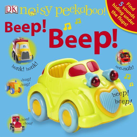 Board book cover of Noisy Peekaboo! Beep! Beep!