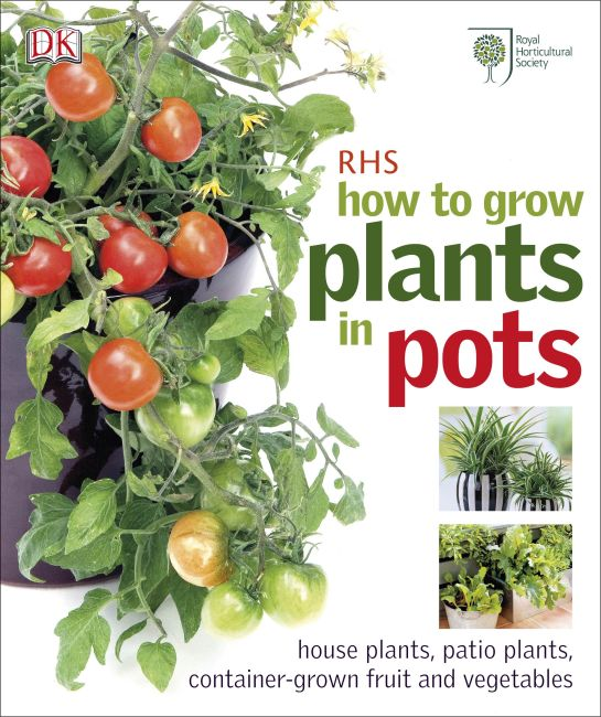 eBook cover of RHS How to Grow Plants in Pots