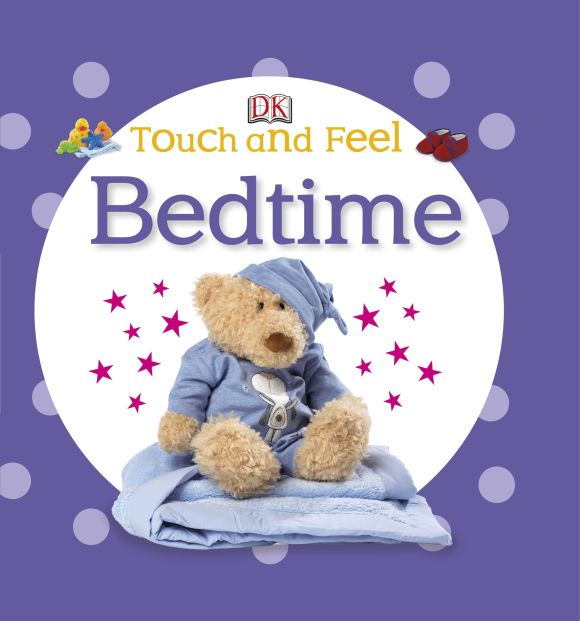 Board book cover of Touch and Feel Bedtime