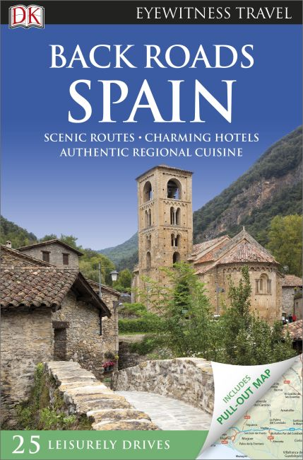 Flexibound cover of Back Roads Spain