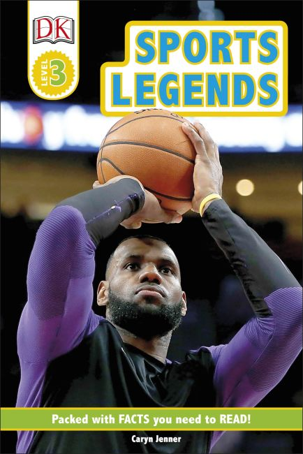 Hardback cover of Sports Legends