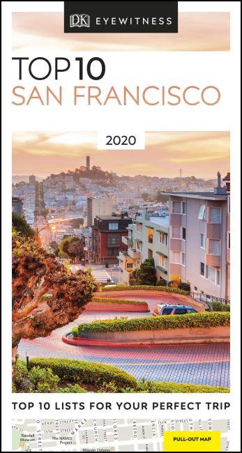 Paperback cover of DK Eyewitness Top 10 San Francisco
