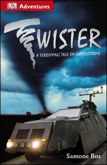 Paperback cover of DK Adventures: Twister!
