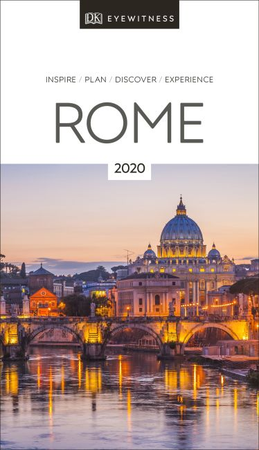 Paperback cover of DK Eyewitness Travel Guide Rome