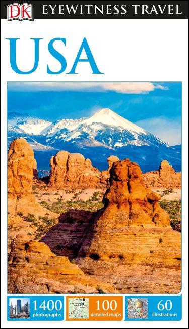 Flexibound cover of DK Eyewitness Travel Guide USA