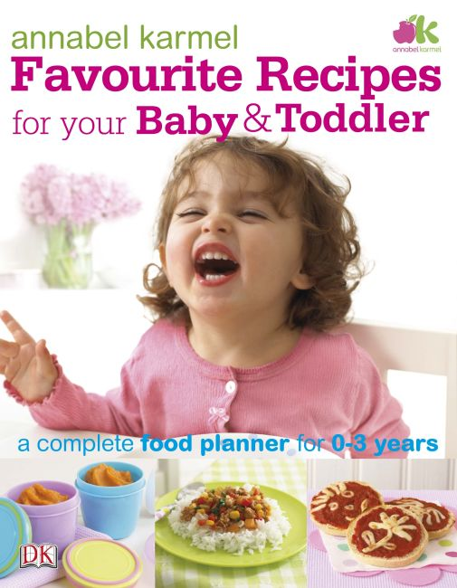 eBook cover of Favourite Recipes for Your Baby and Toddler