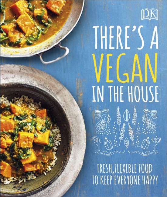 Hardback cover of There's a Vegan in the House