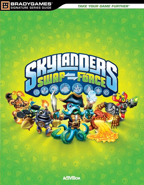 eBook cover of Skylanders SWAP Force Signature Series Strategy Guide
