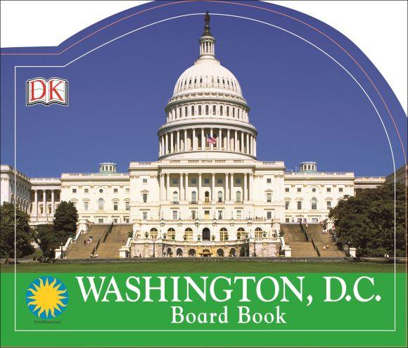 Board book cover of Washington, D.C.