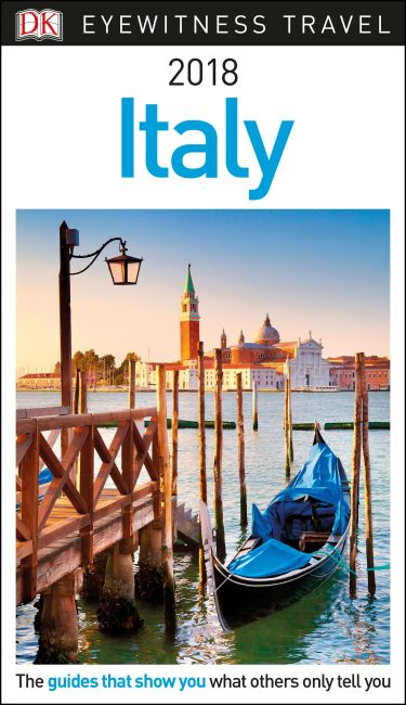 Paperback cover of DK Eyewitness Travel Guide Italy