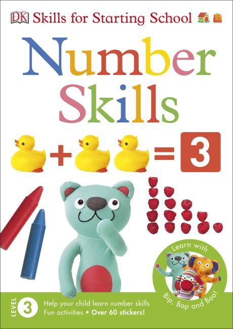 Paperback cover of Number Skills