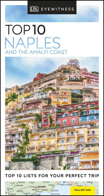 Paperback cover of DK Eyewitness Top 10 Naples and the Amalfi Coast