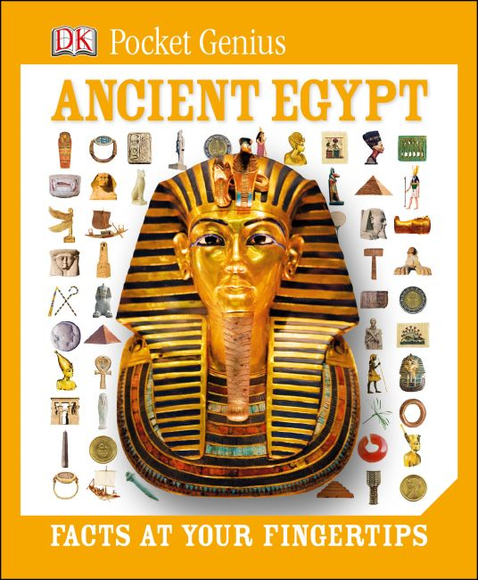 Hardback cover of Pkt Genius:Ancient Egypt