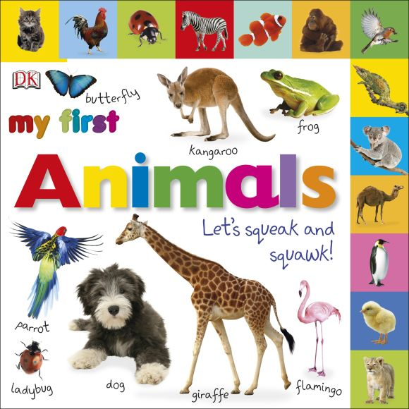 Board book cover of Tabbed Board Books: My First Animals